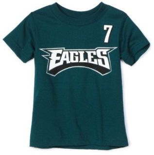 NFL Philadelphia Eagles Michael Vick Name & Number Tee Shirt Infant/Toddler Boys'  Sports Fan T Shirts  Clothing