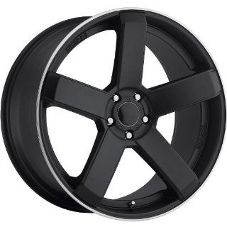 Dropstars 644B 22 Black Wheel / Rim 5x115 & 5x120 with a 20mm Offset and a 74.1 Hub Bore. Partnumber 644B 2295520 Automotive