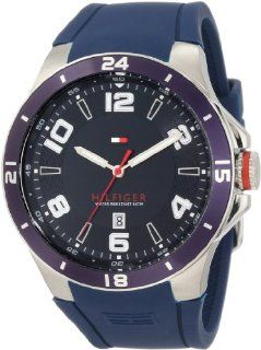 Tommy Hilfiger Men's 1790862 Sport Bezel and Silicon Strap Watch Tommy Hilfiger Watches