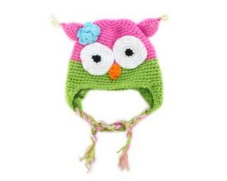 Winter Lovely Owl Design Baby Infant Boy Girl Warm Knitted Beanie Hat Cap D Clothing