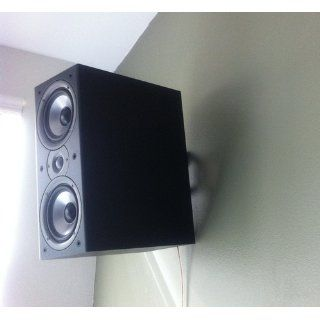 Pinpoint Mounts AM10 Black Universal Wall Mount for Speaker Electronics