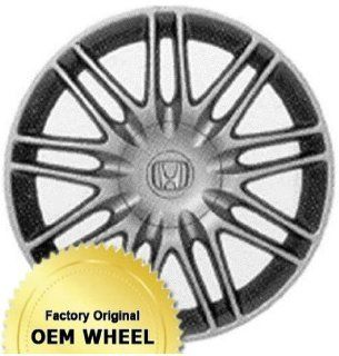 ACURA,HONDA TSX 17x7 18 SPOKE Factory Oem Wheel Rim  SILVER   Remanufactured Automotive