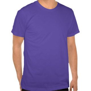 Plain Purple Men's American Apparel T Shirt