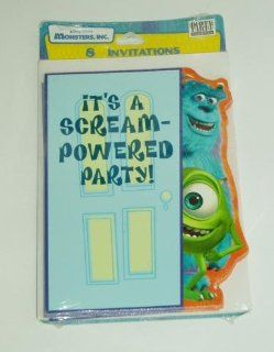Disney Monsters Inc Birthday Party Invitations   Hallmark Health & Personal Care