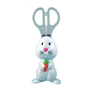 Bunny Scissors   magnetic holder keeps scissor on fridge or locker Toys & Games