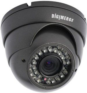 Digimerge DBV34TL 600TVL Outdoor IR Dome Camera, 4 9mm  Camera & Photo