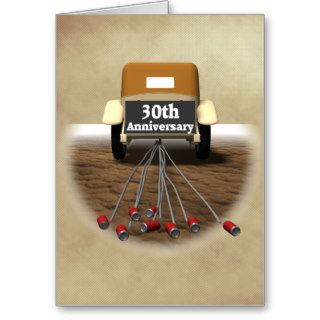 30th Wedding Anniversary Gifts Greeting Cards