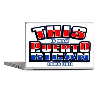 "Laptop Notebook 17"" Skin Cover This Is What Puerto Rican Looks Like with Flag"