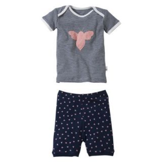 Burts Bees Baby Infant Toddler Girls 2 Piece S