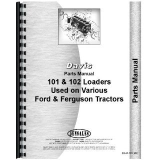 Massey Ferguson TO20 Loader Parts Manual Jensales Ag Products Books
