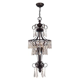World Imports Lille Collection 3 light Hanging Pendant