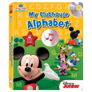 Disney Mickey Mouse Clubhouse Alphabet (with easy to  printable activities) (Disney Mickey Mouse Clubhouse (Studio Mouse)) Laura Gates Galvin 9781607272878 Books