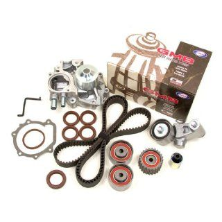 Mitsuboshi GMB Evergreen TBK277WP2 M Subaru EJ20T Turbo DOHC Timing Belt Kit w/ Water Pump Automotive