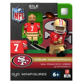 NFL San Francisco 49ers Colin Kaepernick Figurine Sports & Outdoors