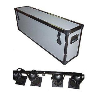 "Lighting 4 Par Cans on Truss Rod   1/4"" Medium Duty TuffBox Road Case   Large Size Musical Instruments"