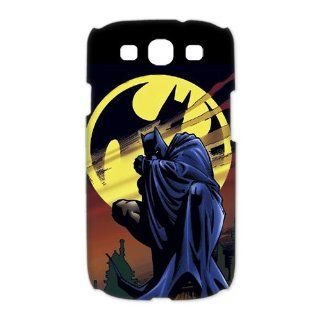 Custom Batman 3D Cover Case for Samsung Galaxy S3 III i9300 LSM 293 Cell Phones & Accessories