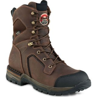 Irish Setter Mens Waterproof 400g 8 Insulated Steel Toe Work Boot 727165