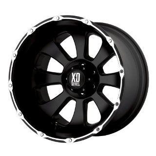 20x12 KMC XD Armour (Matte Black / Machined) Wheels/Rims 5x150 (XD79921258744N) Automotive