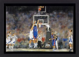 KU Jayhawks 2008 National Champs Large Oil Painting  Prints  Sports & Outdoors