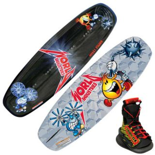 World Industries Battle Wakeboard With DC Bindings 744294