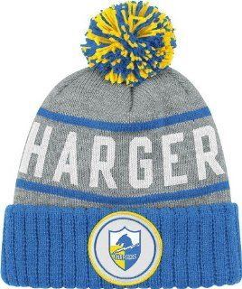 San Diego Chargers High 5 Vintage Cuffed Pom Hat  Sports Fan Beanies  Sports & Outdoors
