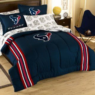 NFL Houston Texans Bedding Set, Twin  Sports Fan Bed In A Bag  Sports & Outdoors