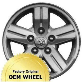 DODGE DAKOTA 18X8 5 SPOKE Factory Oem Wheel Rim  MACHINED CLAD   Remanufactured Automotive