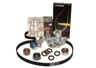 Mitsuboshi GMB Evergreen TBK304WP M Subaru EJ22 EJ25 SOHC Timing Belt Kit w/ Water Pump Automotive