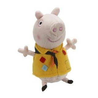 "Peppa Pig Oinking Peppa Pig Plush Camping Peppa 6"" Tiny Doll Toy Toys & Games"