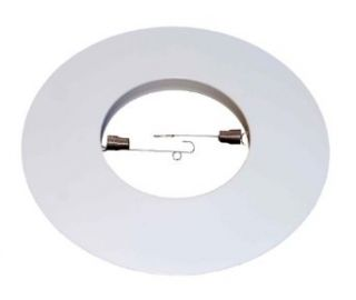 "6"" Open Metal Trim Ring for Par30/R30 Recessed Light/lighting White Replaces Halo 301P   Recessed Light Fixture Trims"