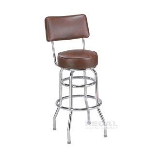 "Regal 2106 Chrome 26"" Swivel Counter Stool   Barstools"