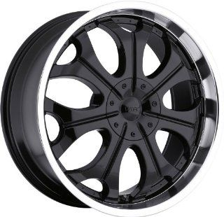 VISION WHEEL   323 torch   20 Inch Rim x 9   (5x4.5/5x120) Offset (18) Wheel Finish   Gloss black machined lip Automotive