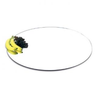 "Delfin FSRD 24 03 24"" Round Acrylic Table Top Display Mirror   4 / CS"