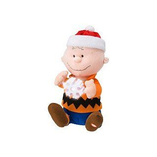 Snoopy Friend Charlie Brown   Peanuts Mini Animated Plush Doll Figure, Holiday Christmas Toys & Games