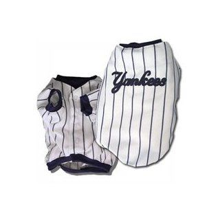 New York Yankees Dog Baseball Jersey Shirt Size Medium  Pet Shirts