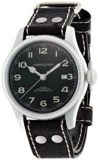 Hamilton Men's H60455533 Khaki Field Team Earth Black Dial Watch at  Men's Watch store.