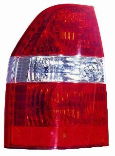 Depo 327 1902L US Acura MDX Driver Side Tail Lamp Assembly with Bulb and Socket Automotive