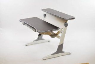 TH333 Ergonomic Height Adjustable Desk (Espresso)   Home Office Computer Desks