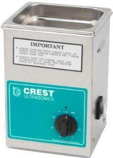 Crest 1/2 Gallon CP200T Industrial Ultrasonic Cleaner w/ Basket   Jewelry Cleaning And Care Products