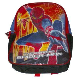 Marvel Spiderman Backpack Amazing Spider Man Sport School Travel Back Pack  Sports Fan Backpacks  Sports & Outdoors