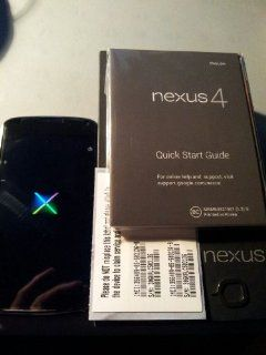 LG GOOGLE NEXUS 4 E960 16GB ANDROID BLACK 16GB FACTORY UNLOCKED GSM OEM CELL PHONE (3G 850/900/1700/1900/2100) Cell Phones & Accessories