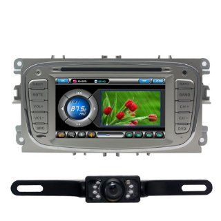 Tyso For FORD Mondeo 2009 FORD Focus s max (2005 2008) CAR DVD Player GPS Rear Camera Bluetooth CD8903R  In Dash Vehicle Gps Units  GPS & Navigation