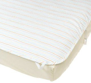 Basic Comfort Ultimate Crib Sheet   Stripes  Crib Mattress Pads  Baby