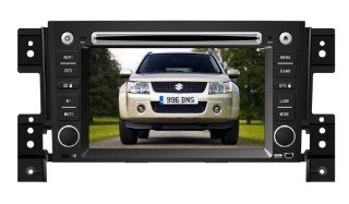 Eagle for 2006 2011 Suzuki Grand Vitara Car GPS Navigation DVD Player Audio Video System with Radio (AM/FM), Bluetooth Hands Free, USB, AUX Input, (free Map), Plug & Play Installation  In Dash Vehicle Gps Units