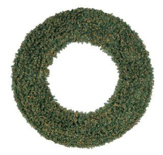 10 Foot, LED Commercial Christmas Wreath, Olympia Pine, Warm Clear