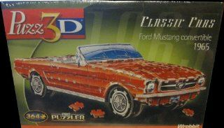"Puzz 3D 1965 Ford Mustang Convertible 364pc Puzzle ""Classic Cars""   Puzzle Boxes"