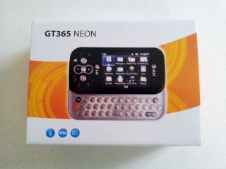 LG GT365 Neon GSM Unlocked Phone with 2 MP Camera, Bluetooth,  and QWERTY Keyboard   US Warranty   Gray/Black Cell Phones & Accessories
