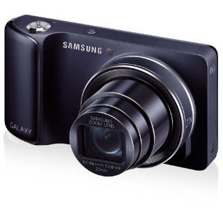 "Samsung Galaxy Camera with Android Jelly Bean v4.2 OS, 16.3MP CMOS with 21x Optical Zoom and 4.8"" Touch Screen LCD (WiFi   Cobalt Black)  Point And Shoot Digital Cameras  Camera & Photo"
