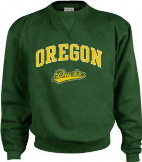 Oregon Ducks Perennial Crewneck Sweatshirt  Sports Fan Sweatshirts  Sports & Outdoors
