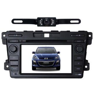 "Tyso For MAZDA CX 7 (2007 2011) HD 7"" Car DVD GPS Navigation Rear Camera Bluetooth Ipod Free Map CD7023R  In Dash Vehicle Gps Units  GPS & Navigation"